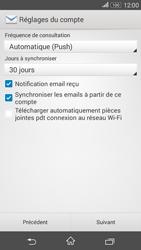 Sony E2003 Xperia E4 G - E-mail - Configuration manuelle - Étape 15