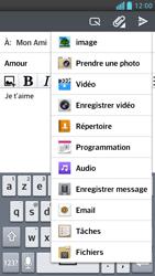 LG Optimus F6 - E-mails - Envoyer un e-mail - Étape 11