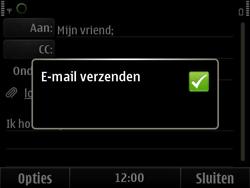 Nokia E6-00 - E-mail - E-mails verzenden - Stap 13