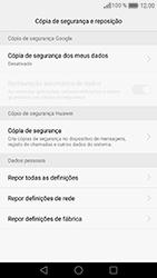 Huawei Honor 8 - Repor definições - Como repor definições de fábrica do telemóvel -  7