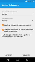 Sony Xperia Z3 - E-mail - Configurar Yahoo! - Paso 8