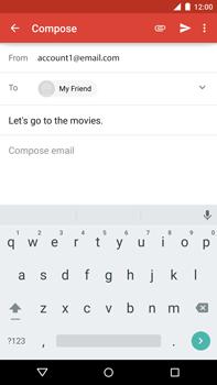 Motorola Nexus 6 - Email - Sending an email message - Step 8