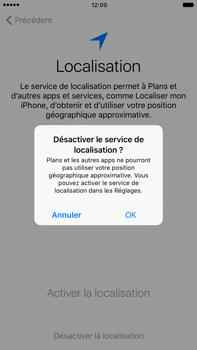 Apple iPhone 7 Plus - Premiers pas - Créer un compte - Étape 11