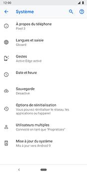 Google Pixel 3 - Appareil - Mise à jour logicielle - Étape 7
