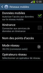 Samsung Galaxy Ace 3 - Internet et connexion - Activer la 4G - Étape 6