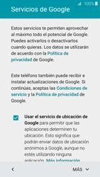 Samsung Galaxy S6 - Primeros pasos - Activar el equipo - Paso 13