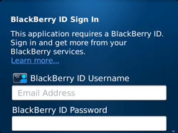 BlackBerry 9720 Bold - BlackBerry activation - BlackBerry ID activation - Step 5
