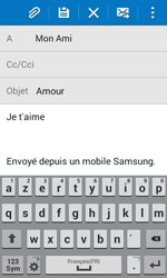 Samsung G355 Galaxy Core 2 - E-mail - envoyer un e-mail - Étape 9