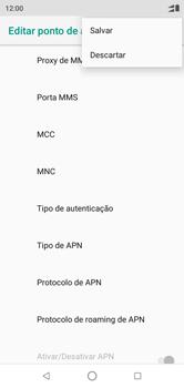 Motorola One - Internet (APN) - Como configurar a internet do seu aparelho (APN Nextel) - Etapa 16