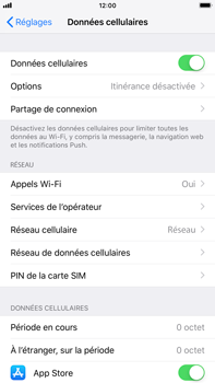 Apple iPhone 8 Plus - iOS 12 - Internet - activer ou désactiver - Étape 4