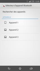Sony Xpéria T3 - Photos, vidéos, musique - Envoyer une photo via Bluetooth - Étape 11