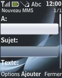 Nokia 2330 classic - MMS - envoi d'images - Étape 7