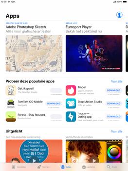 Apple ipad-mini-5-7-9-inch-2019-model-a2124 - Applicaties - Downloaden - Stap 7