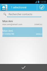 Bouygues Telecom Bs 351 - Contact, Appels, SMS/MMS - Envoyer un SMS - Étape 7
