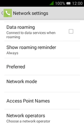 Alcatel Pixi 3 - 3.5 - Network - Usage across the border - Step 6