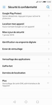 Huawei P Smart - Sécuriser votre mobile - Personnaliser le code PIN de votre carte SIM - Étape 5