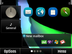 Nokia E6-00 - E-mail - Manual configuration - Step 1