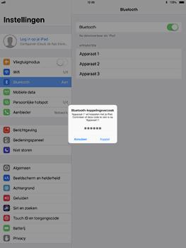 Apple iPad Pro 10.5 inch met iOS 11 (Model A1709) - Bluetooth - Headset, carkit verbinding - Stap 6