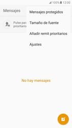 Samsung Galaxy S7 - Mensajería - Configurar el equipo para mensajes de texto - Paso 5
