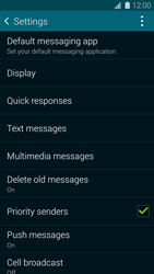 Samsung G900F Galaxy S5 - SMS - Manual configuration - Step 6
