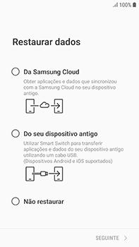 Samsung Galaxy S7 Edge - Android Oreo - Primeiros passos - Como ligar o telemóvel pela primeira vez -  17