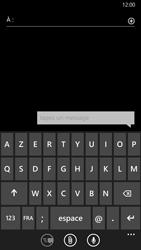 Nokia Lumia 930 - Contact, Appels, SMS/MMS - Envoyer un SMS - Étape 5