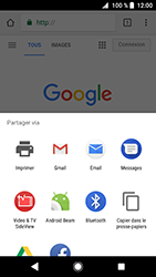 Sony Xperia XZ Premium - Android Oreo - Internet - navigation sur Internet - Étape 21