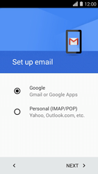 Huawei Ascend Y550 - E-mail - Manual configuration (gmail) - Step 8