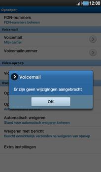 Samsung P1000 Galaxy Tab - Voicemail - Handmatig instellen - Stap 7