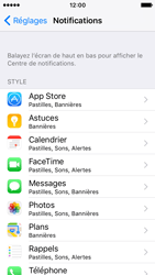 Apple iPhone SE - iOS 10 - iOS features - Personnaliser les notifications - Étape 4