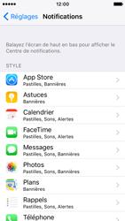 Apple iPhone SE - iOS 10 - iOS features - Personnaliser les notifications - Étape 4