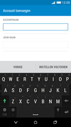 HTC Desire 816 - E-mail - e-mail instellen: IMAP (aanbevolen) - Stap 19