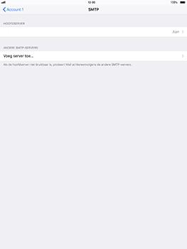 Apple iPad Pro 10.5 inch - iOS 11 - E-mail - Account instellen (POP3 zonder SMTP-verificatie) - Stap 17