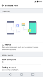 LG G5 - Android Nougat - Device maintenance - Create a backup of your data - Step 8