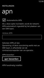 Samsung I8750 Ativ S - Internet - handmatig instellen - Stap 5