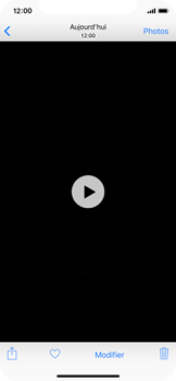 Apple iPhone XS - iOS 12 - Photos, vidéos, musique - Créer une vidéo - Étape 12