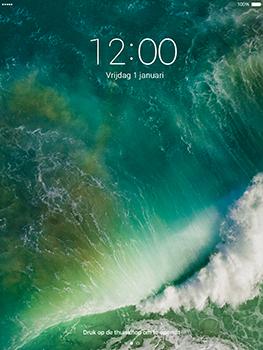 Apple iPad Pro 9.7 - iOS 10 - Device maintenance - Een soft reset uitvoeren - Stap 4