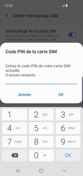 Samsung Galaxy S10e - Sécurité - modifier SIM PIN - Étape 8