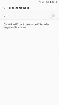 Samsung Galaxy S7 Edge - Android Oreo - Bellen - Bellen via wifi (VoWifi) - Stap 7