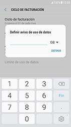 Samsung Galaxy S6 - Android Nougat - Internet - Ver uso de datos - Paso 10