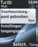 Nokia 2330 classic - Internet - Handmatig instellen - Stap 10
