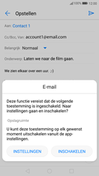 Huawei P10 Lite - E-mail - Bericht met attachment versturen - Stap 12
