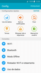 Samsung Galaxy S6 - Wi-Fi - Como configurar uma rede wi fi - Etapa 4