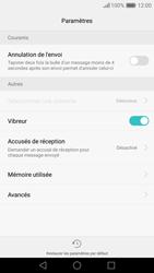 Huawei Nova - SMS - configuration manuelle - Étape 5