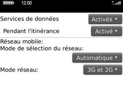 BlackBerry 9700 Bold - Internet - Activer ou désactiver - Étape 5