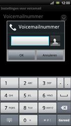 Sony Ericsson Xperia Neo V - Voicemail - handmatig instellen - Stap 7