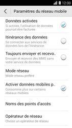 Huawei Ascend Y550 - Internet - configuration manuelle - Étape 5