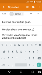 Acer Liquid Z330 - E-mail - Hoe te versturen - Stap 10