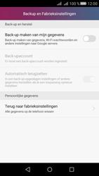 Huawei Huawei Y5 II - Instellingen aanpassen - Fabrieksinstellingen terugzetten - Stap 4
