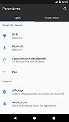 Google Pixel - Wifi - configuration manuelle - Étape 3